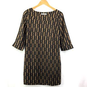 SKIRTIN AROUND New Canaan 3/4 Sleeve Shift Dress